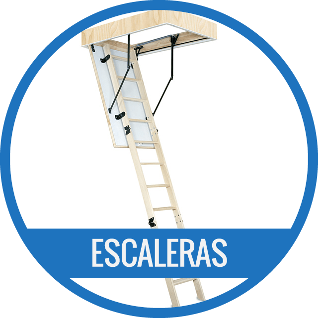 Escalera Plegable de techo