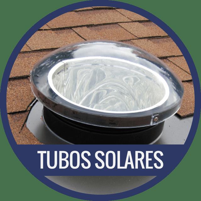 Lucerna Tubo Solar Cubierta Inclinada