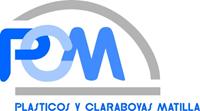 Logotipo Plásticos y Claraboyas Matilla PCM