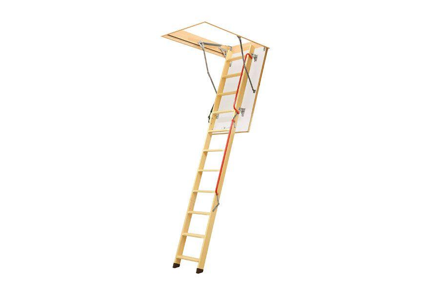 Escalera de madera - Plásticos Matilla