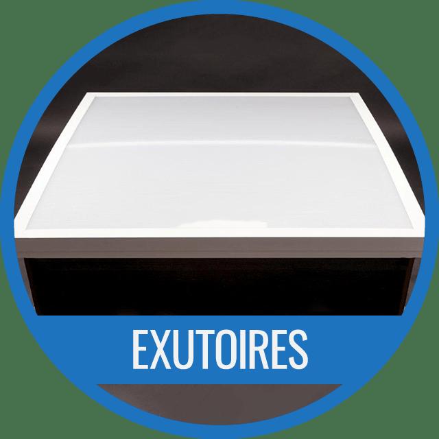 Exutoire en polycarbonate