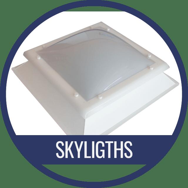 Fix skylight for natural sunlight