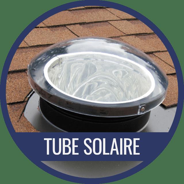 Tube Solaire pour le toit en pente