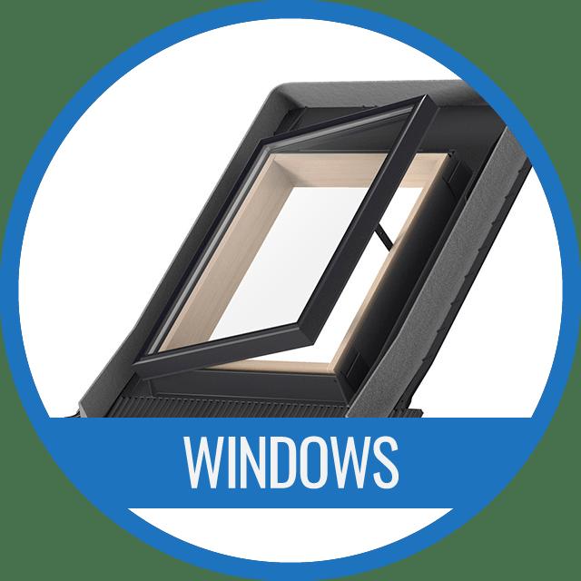 Gable roof window